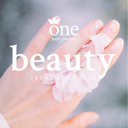 One Hair & Beauty | Treatment List